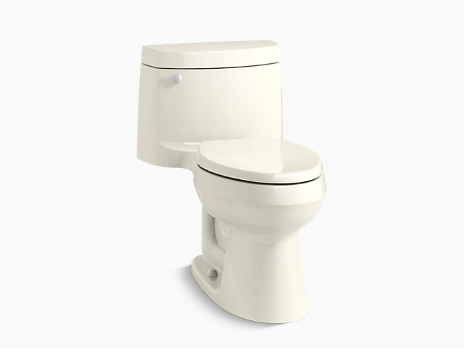 Kohler Cimarron Two Piece Touchless Toilet With Aquapiston